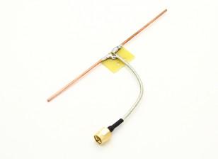 1,2 GHz dipolo coaxial de alimentación cuartos de conexión directa de la onda de la antena (RP-SMA)