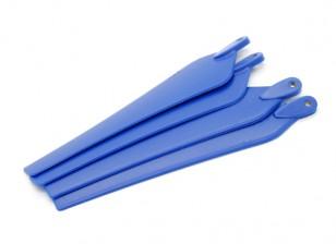 Multirotor hélice plegable 12x4.5 Azul (CW / CCW) (4pcs)