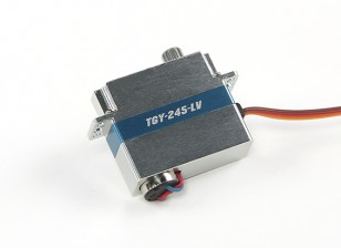 Turnigy ™ TGY-245-LV de baja tensión DLG Ala Servo w / carcasa de aleación de 1,4 kg / 0.12sec / 8,6 g