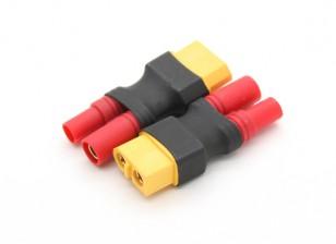 HXT3.5mm al adaptador de la batería XT60 (2pcs / bolsa)