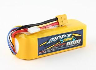 ZIPPY Compacto 1800mAh Lipo 6s 40c Paquete