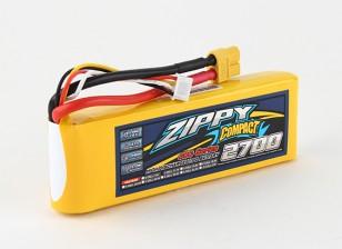 ZIPPY Compacto 2700mAh 3S 40C Lipo Pack de