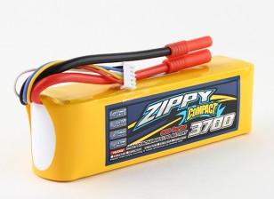 ZIPPY Compacto 3700mAh paquete 4s 60c Lipo