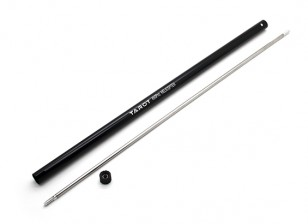 Tarot 450 PRO tubo de torsión w / Tail Boom - Negro (TL45039)