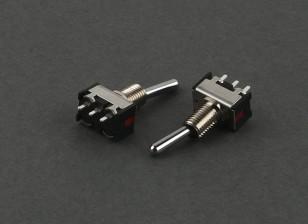 Ronda interruptor de 3 vías (corto) (2pcs)