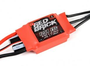 HobbyKing ladrillo rojo 125A ESC (Opto) Ver 2.0
