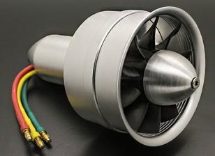 Aleación DPS 64mm 10 eléctrica de la cuchilla del ventilador conductos Assembley 3300Kv