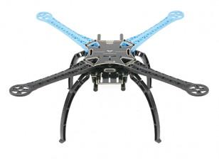 S500 fibra de vidrio de 480 mm de Quadcopter Frame - Integrado Versión PCB