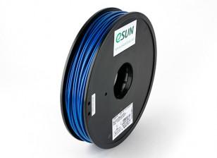 ESUN 3D Filamento impresora azul 3mm ABS 0,5 kg Carrete