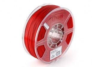 Impresora 3D ESUN 1.75mm Filamentos del ABS rojo 1kg rollo