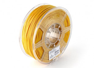ESUN 3D 1,75 mm filamentos de oro ABS Printer 1kg rollo