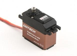 Goteck HB1623S HV Brushless digital MG alto par ETS Servo 16kg / 0.10sec / 53g