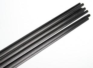 De carbono varilla de fibra (sólido) 1x750mm
