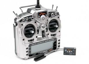 FrSky 2,4 GHz ACCST TARANIS X9D PLUS y X8R sistema de radio telemetría digital Combo (Modo 1)