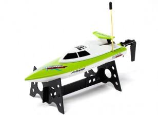 FT008 alta velocidad mini RC Barco - Verde (RTR)