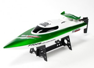460mm FT009 alta velocidad V-casco del barco que compite - Verde (RTR)