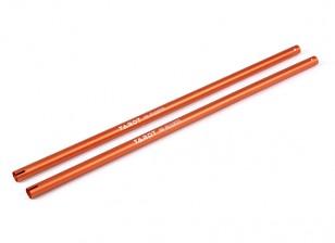 Tarot 480 Tail Boom - naranja (TL48002-02) (2pcs)