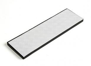 La absorción de vibraciones Hoja 145x45x5.5mm (Negro)