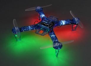 Noche HobbyKing FPV250 V4 azul del fantasma Edición LED folleto FPV aviones no tripulados (azul) (Kit)