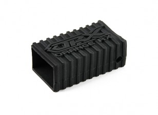 OrangeRx silicona Shell de goma para receptores de la serie R620 (Negro)