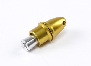 Adaptador de hélice (Collet Tipo) 3mm Amarillo