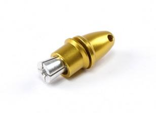 Adaptador de hélice (Collet Tipo) 3.17mm amarillo