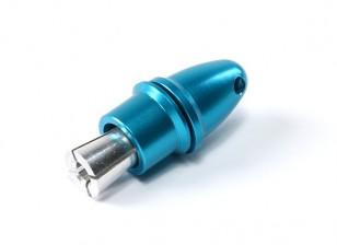 Adaptador de hélice (Collet Tipo) 3.17mm Azul