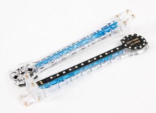Upswept LED Upgrade armas para V500 / H550 y DJI Flamewheel multirrotor (azul) (2pcs)
