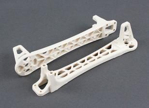 Mejorar armas para DJI Flamewheel Estilo multirrotor V500 / H550 (blanco) (2 unidades)