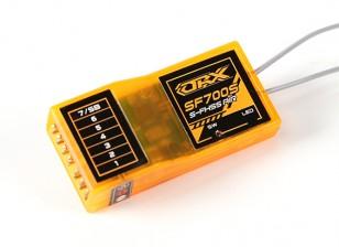 Receptor Futaba OrangeRx SF700S FHSS Compatible con 7 canales 2.4Ghz FS y SBus