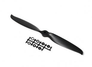 TGS plegable de precisión de la hélice 11x5.5 Negro (1 unidad)