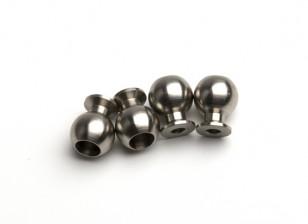 BSR Beserker 1/8 Truggy - Dirección Kunkle la bola del pivote de montaje 9,8 mm (4pcs) 929812
