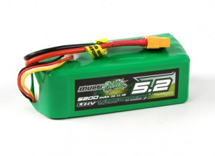 Multistar LiHV High Capacity 5200mAh 3S 10C Multi-Rotor Lipo Pack