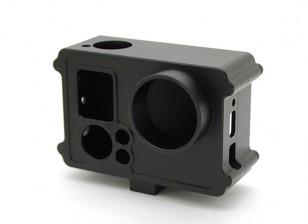Protectora carcasa de aleación para GoPro w / M6 Monte
