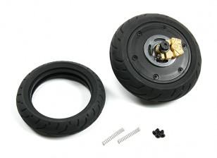 BSR 1000R de pieza de repuesto - Unidad de la rueda trasera con el girocompás