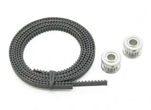 Turnigy Mini Fabrikator 3D v1.0 impresora de piezas de repuesto - Correa de distribución y polea