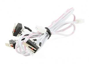 Turnigy Mini Fabrikator 3D v1.0 impresora de piezas de repuesto - Interruptor final (conjunto de 3)