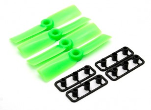 GemFan Bull Nose 3545 Hélices ABS CW / CCW Green Set (2 pares)