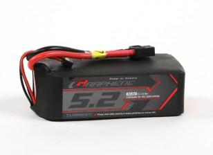El grafeno Turnigy 5200mAh 3S 15C Profesional LiPo paquete w / XT60