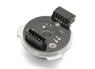 Reemplazo del sensor TrackStar V2 Motor con cojinete Conjunto (9.5T-21.5T)