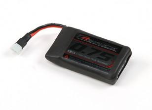 El grafeno Turnigy 750mAh Lipo 1S paquete w / conector Molex 2pin