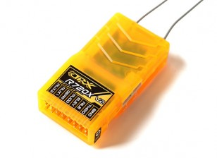 OrangeRx R720X V2 7CH 2.4GHz DSM2 / DSMX Comp Rx de gama completa w / Sat, Div Hormiga, F / Safe & CPPM