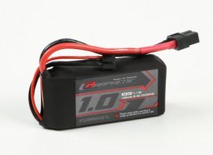 El grafeno Turnigy 1000mAh 3S 45C Li-Po paquete w / XT60