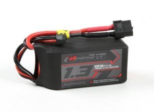 El grafeno Turnigy 1300mAh 45C Lipo 4S paquete w / XT60