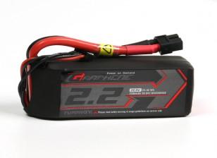 El grafeno Turnigy 2200mAh 3S 65C Li-Po paquete w / XT60