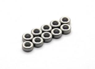 Teniendo Zapatilla (10 piezas) - Basher Rocksta 1/24 4WS Mini Rock Crawler