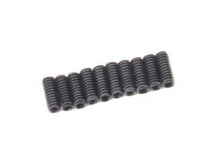 De metal tornillo de cabeza hendida M2x5-10pcs / set