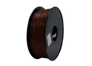 HobbyKing 3D Filamento impresora 1.75mm PLA 1kg Carrete (Brown)