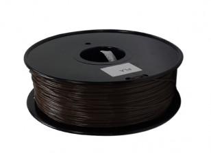 HobbyKing 3D Filamento impresora 1.75mm PLA 1kg Carrete (café)