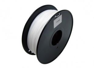 HobbyKing 3D Filamento impresora 1.75mm POM 1.0kg Carrete (blanco)
